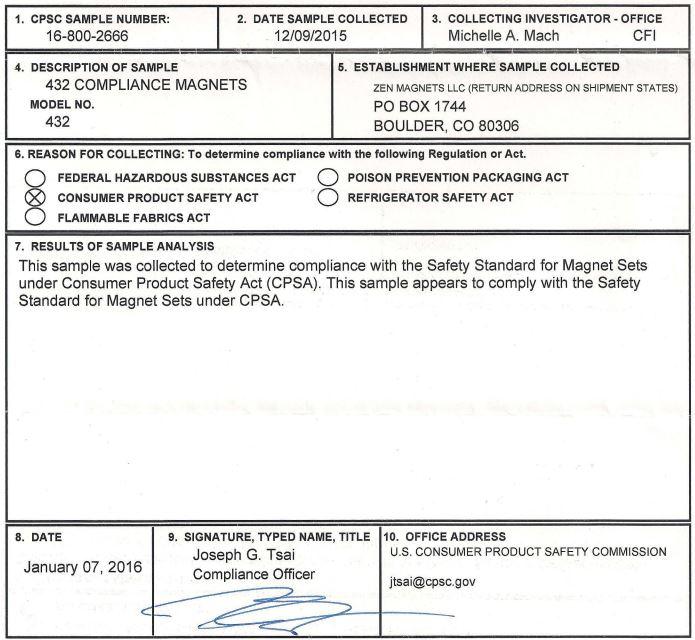 432 Micro CPSA Compliance.