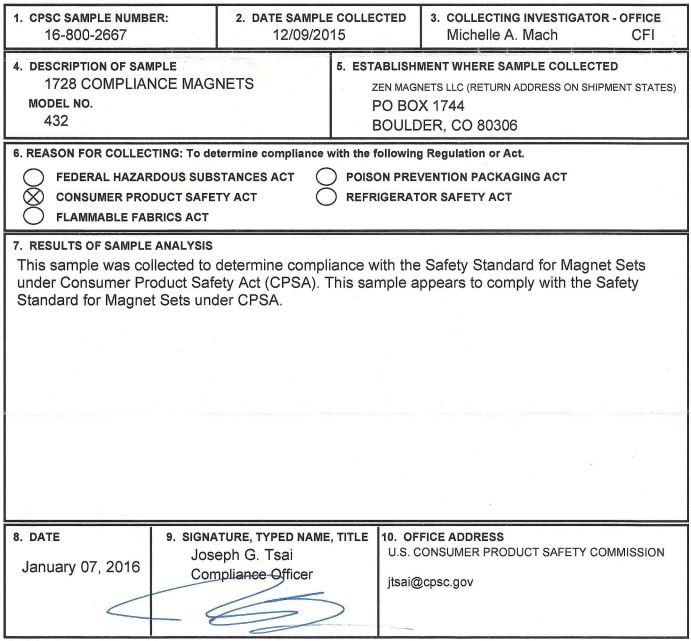 1728 Micro CPSA Compliance
